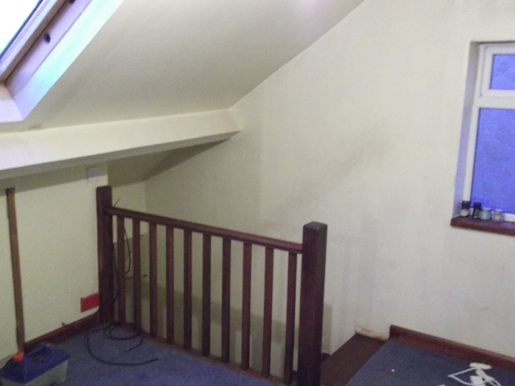 Loft Handrail And Staircase