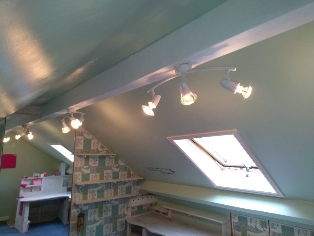 The New Spot Lights In The Craft Room