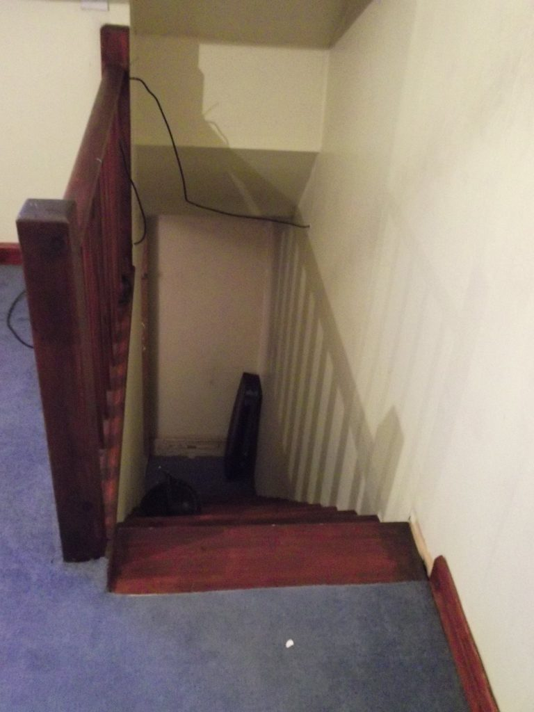 Staircase From Loft
