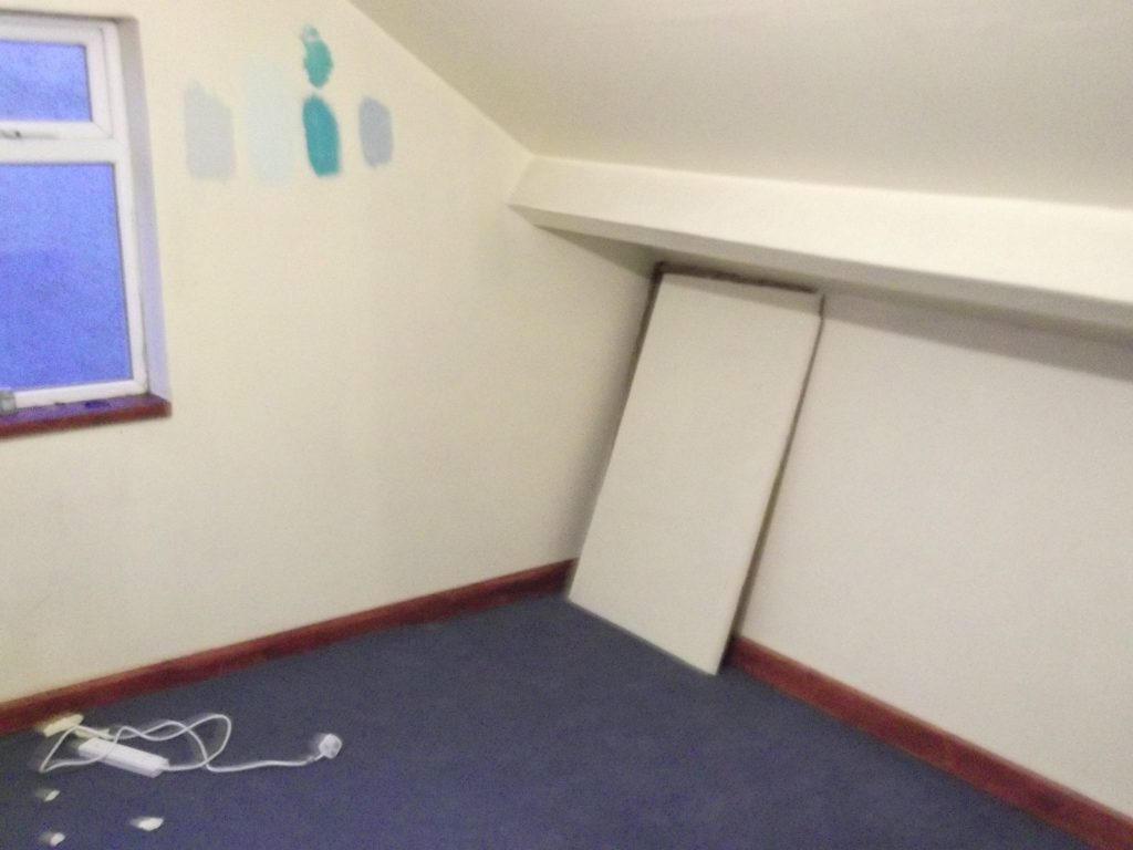Other Loft Corner With Door To Storage And Gable End Window