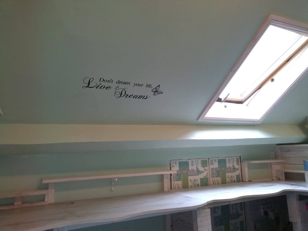 Transfer On The Ceiling For Insperation