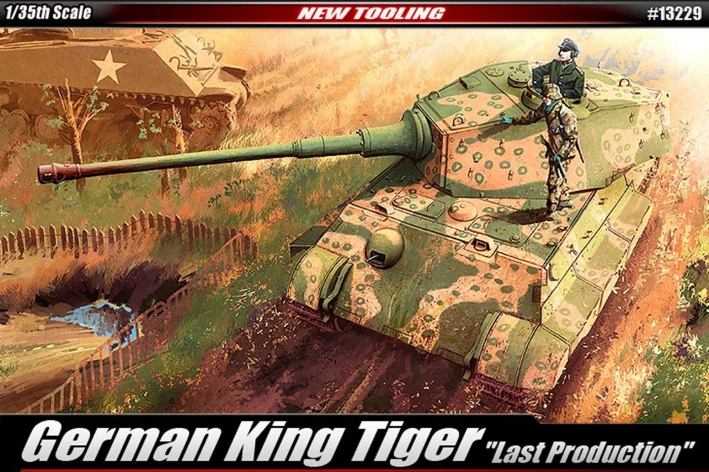Academy king tiger 1/35