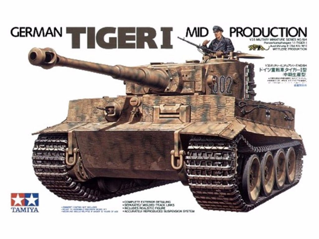 1/35th scale Tiger Tank Mid Production from Tamiya