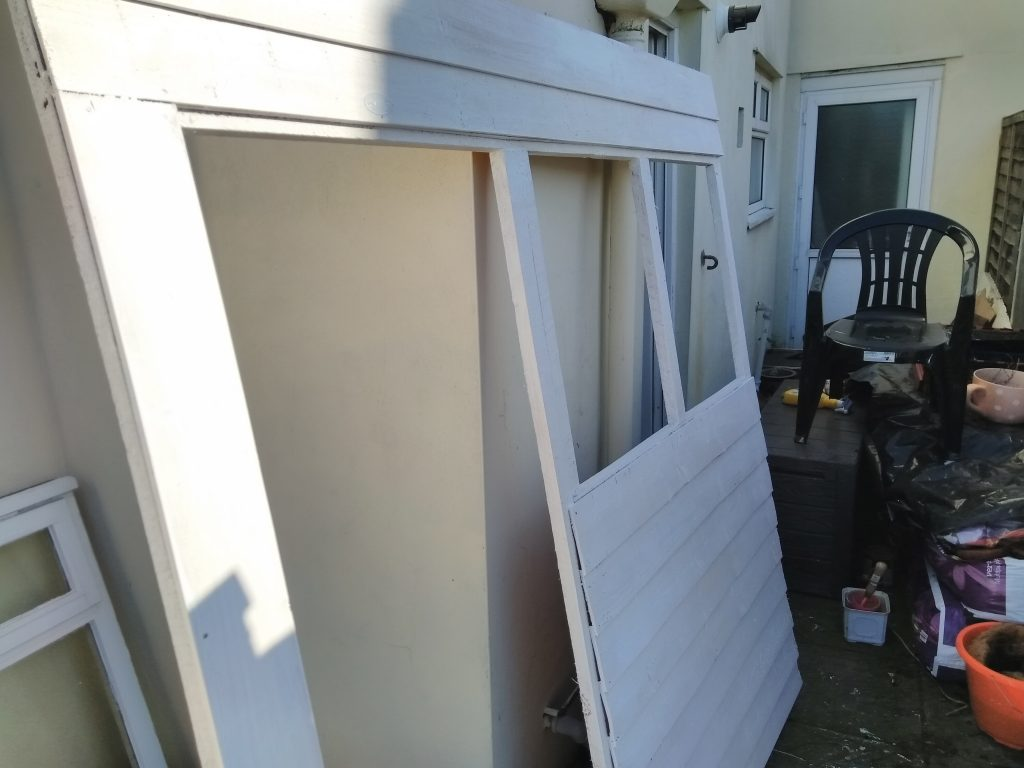 Shed Panel Undercoated