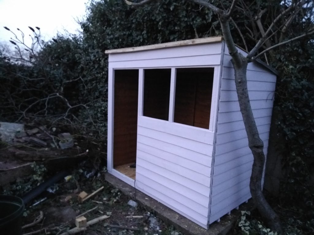 Shed Frame Work Completely Fitted
