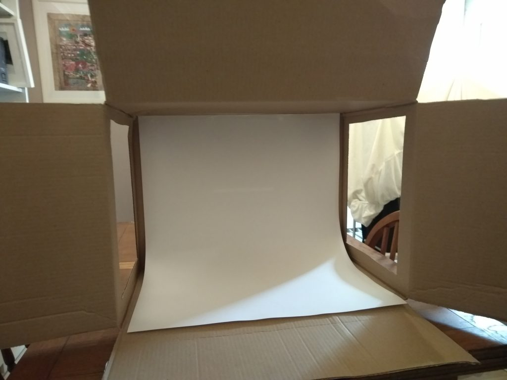 £5 Light box Step Two