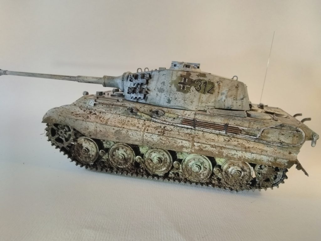 Third Picture Of Tiger Tank In £5 Light Box