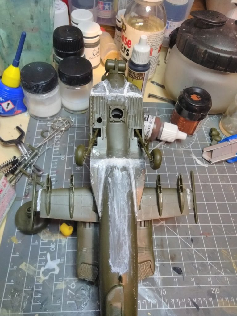 Filling All The Gaps On The Model Before Finishing The Body