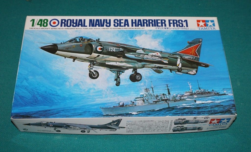 1/48 scale Sea Harrier from Tamiya