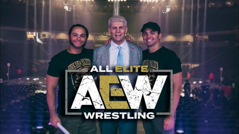 Brand New Wrestling Promotion AEW Featuring Cody Rhodes And The Young Bucks.