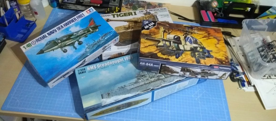 Four New Scale Models To Make In The First Few Months Of 2019