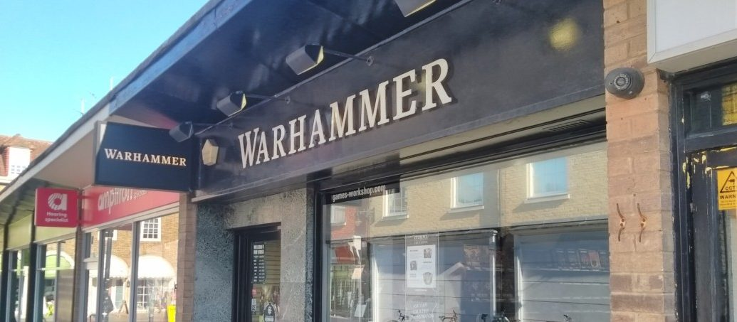 Local Branch Of Games Workshop In Canterbury Kent