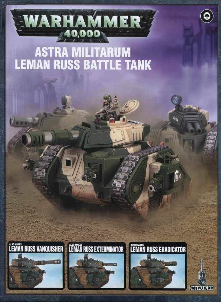 Games Workshop Astra Militarum Leman Russ Tank