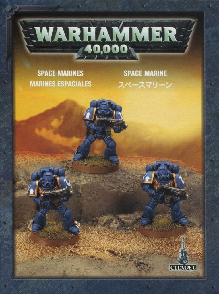 Space Marine 3 Pack Warhammer 40K From Wayland Games