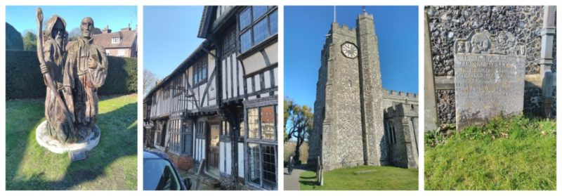 A Summer Day Visiting The Village Of Chilham In Kent