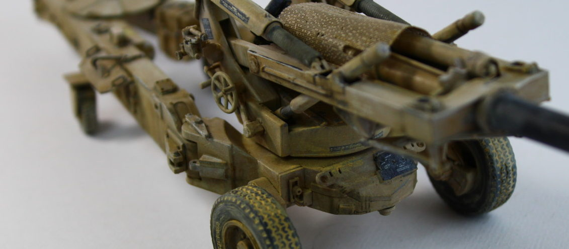 M198 Medium Towed Howitzer Late 1/35th By Trumpeter Step By Step Full Build