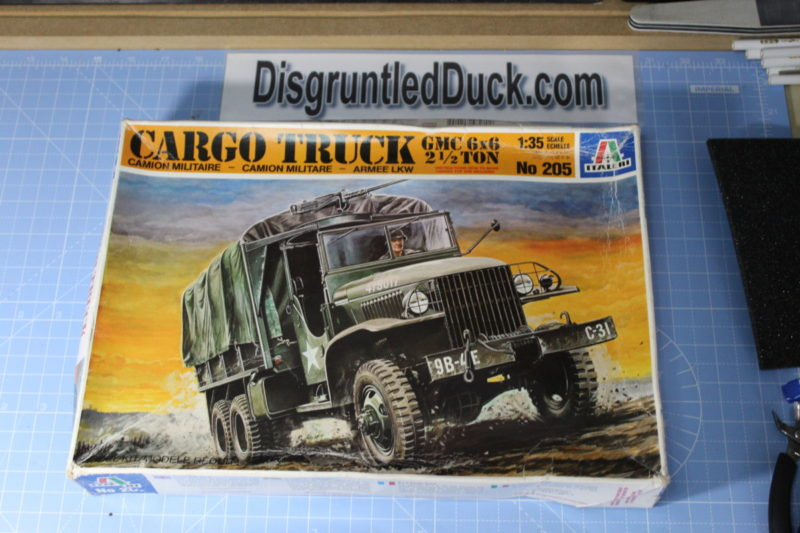 Italeri GMC 6X6 Cargo Truck Scale Model