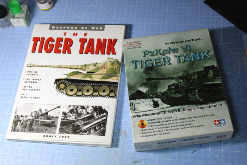 Some Reference Material To Aid Building The Tamiya Tiger Tank