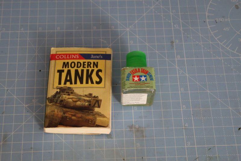 a very small book on tanks