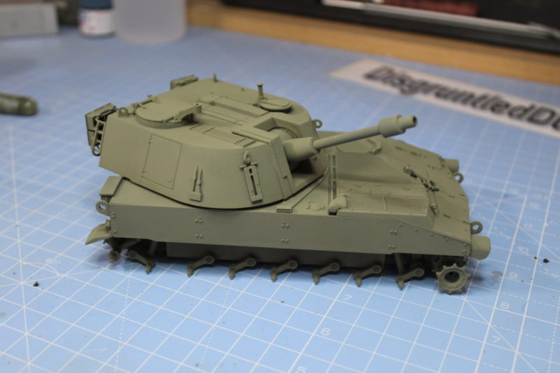 The M108 Is Pretty Much Completed Just Giving It A Coat Of Olive Drab