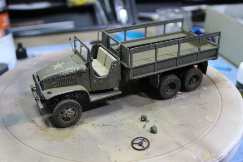 Finished The Weathering On The Cargo Truck