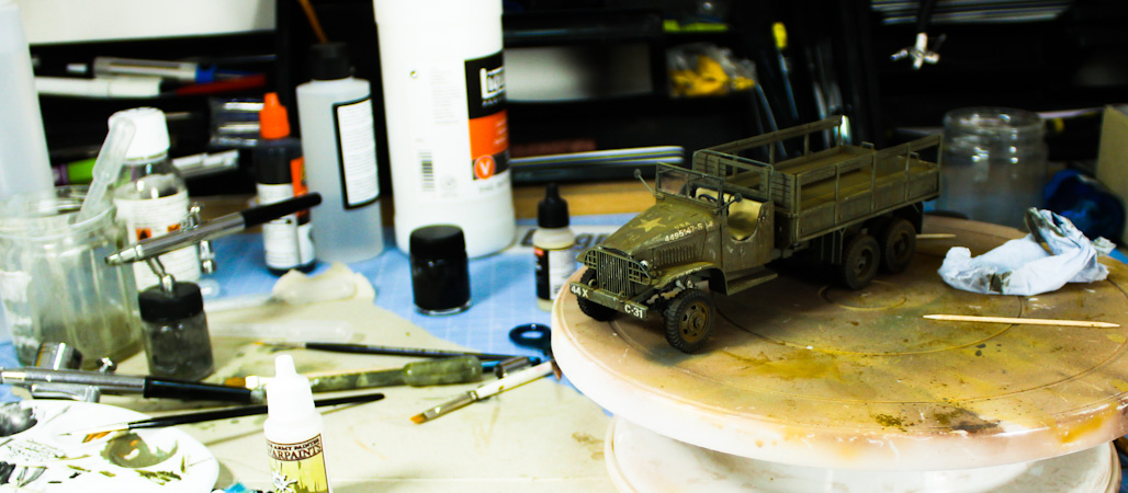 Italeri 135th Cargo Truck GMC 6X6 Step By Step Full Build