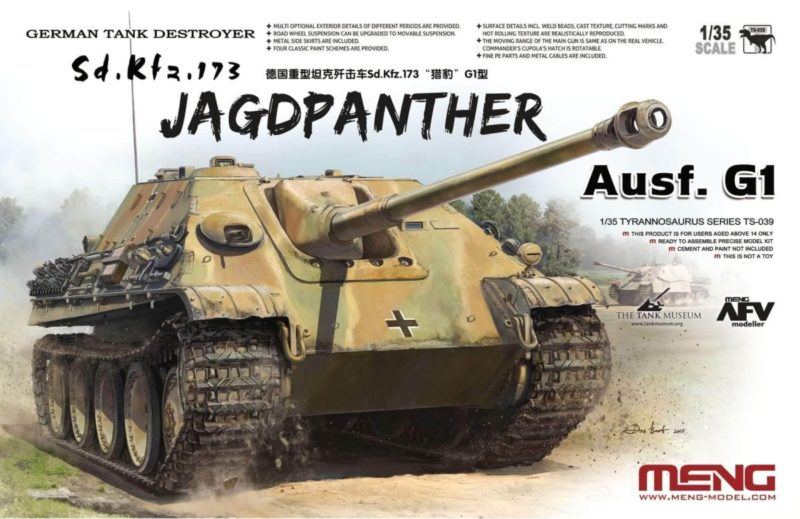Meng 135th Scale Jagdpanther Box Art