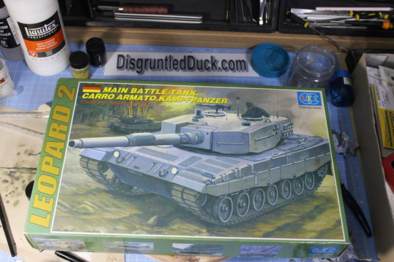 Lee 1/35th Scale Model Main Battle Tank Leopard 2