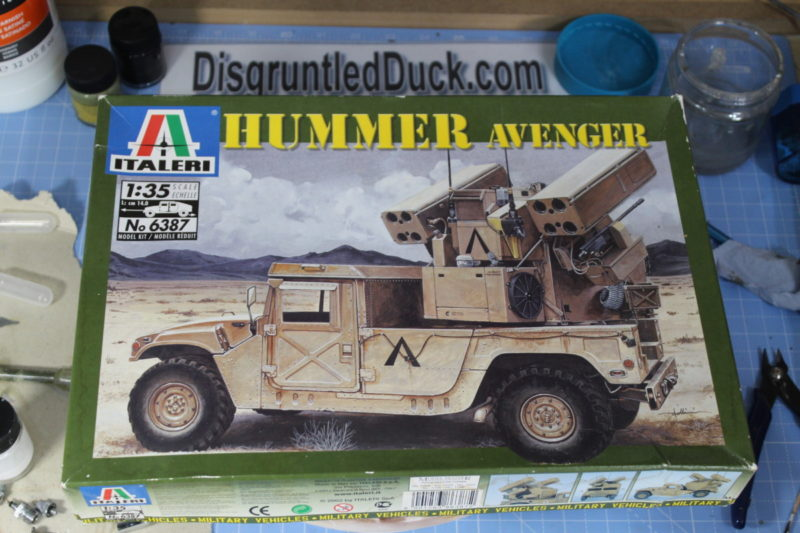 Italeri 1/35th Scale Model Hummer Avenger