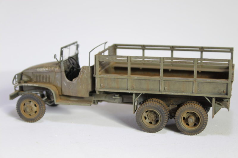 Finished Model Cargo Truck 135th Scale