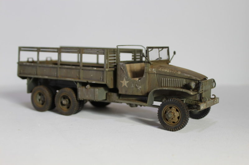 United States Second World War Scale Model Cargo Truck