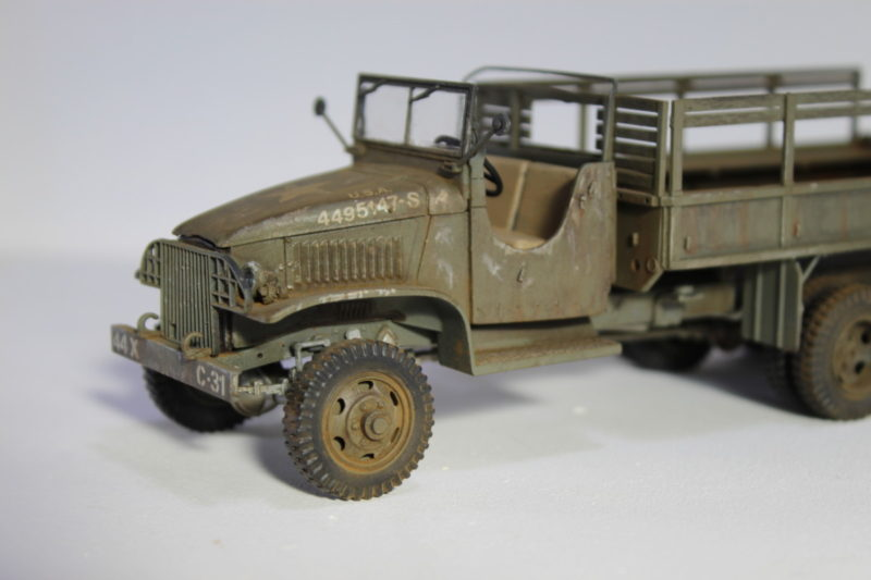 6x6 Cargo Truck Model Front End