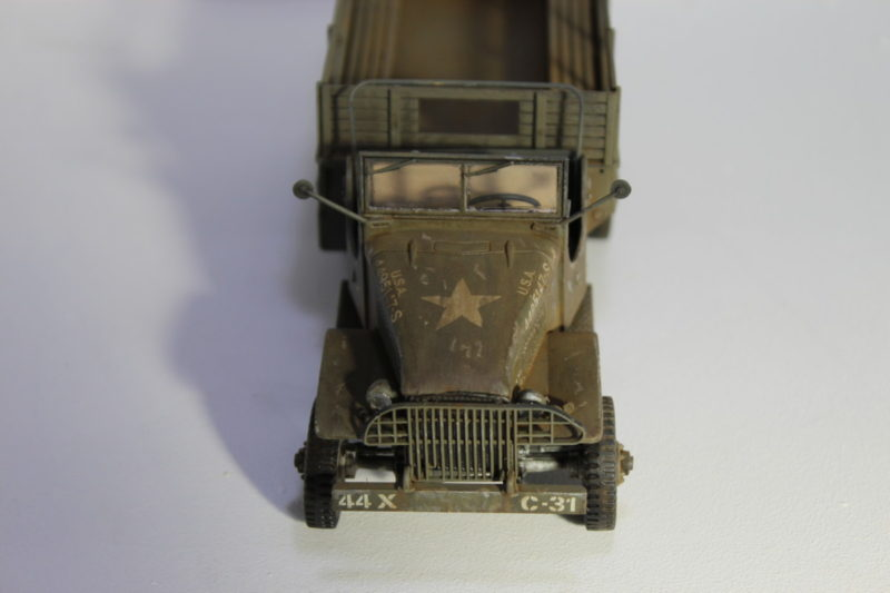 Scale Model GMC Cargo Truck From The Front