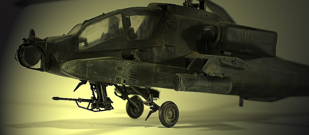 Apache AH-64A 148th Model By Academy Step By Step Full Build