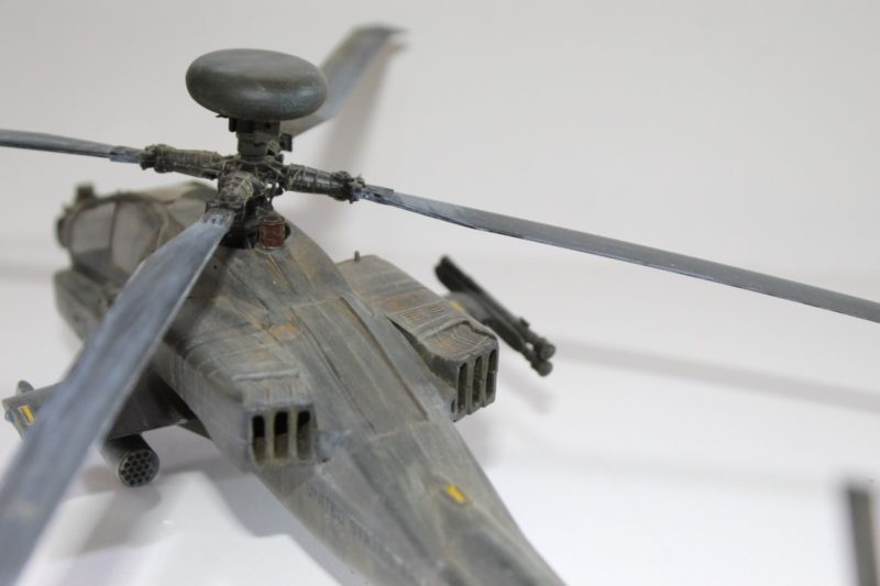 Academy 1/48 Apache Helicopter Propeller And Air Vents.