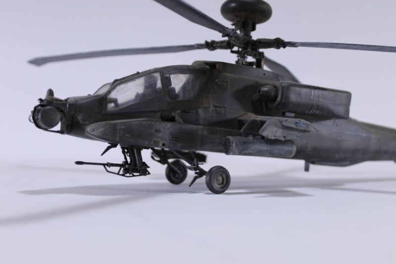 The Apache Longbow 1/48th Scale Model By Academy In All Its Glory.
