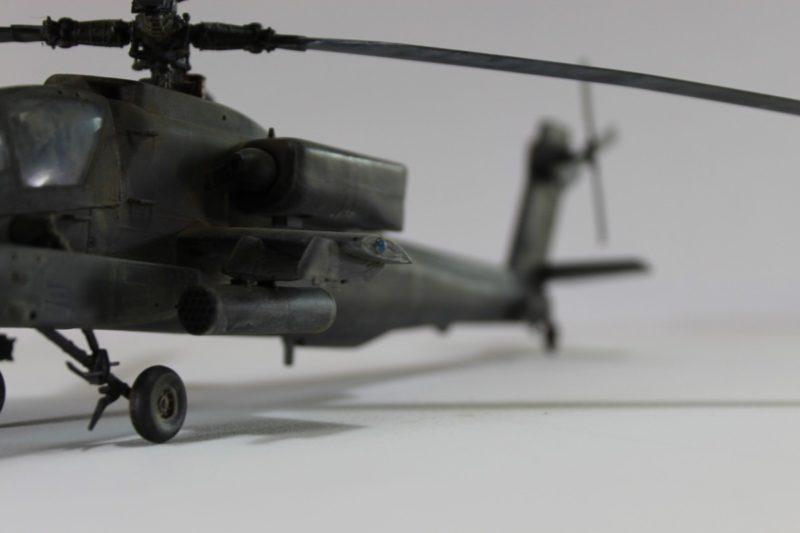Apache Helicopter Air Intakes And Armaments.