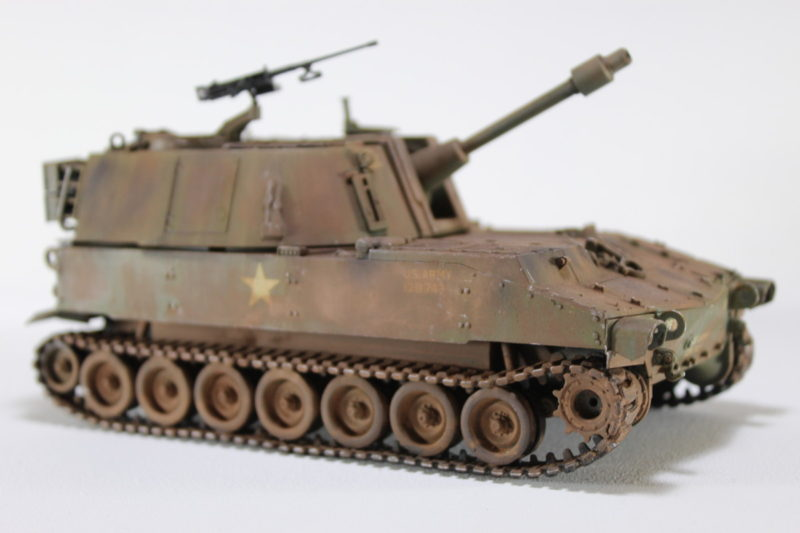 The Us M108 Howitzer Scale Model