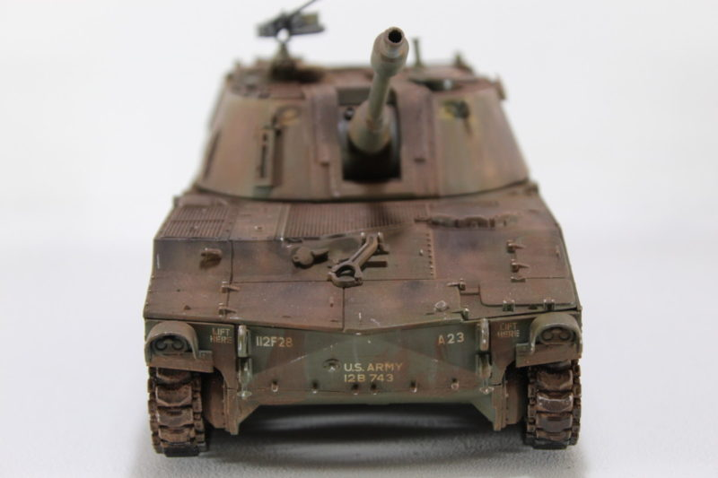 Head On Photo Of The 135th Scale M108 Model