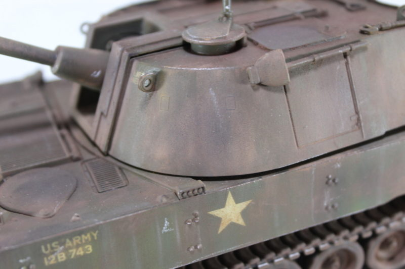 More Turret Details On The 105mm Howitzer Scale Model