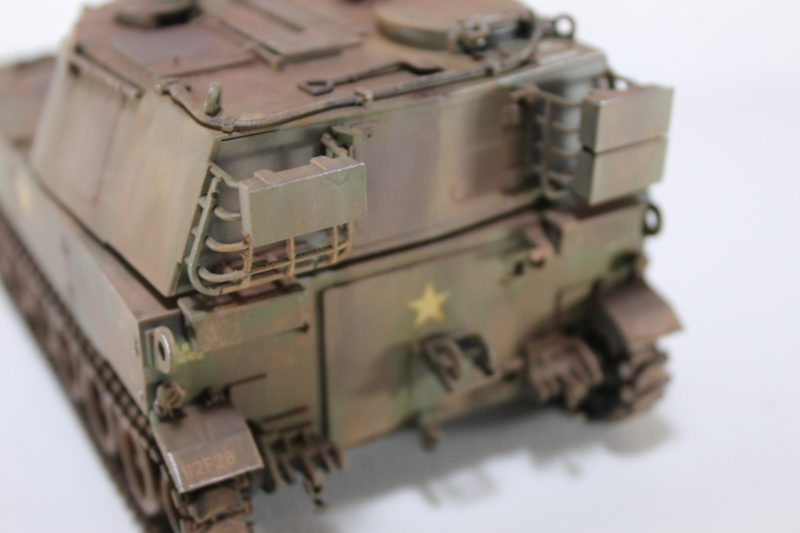 Rear Of The M108 105mm Howitzer Model