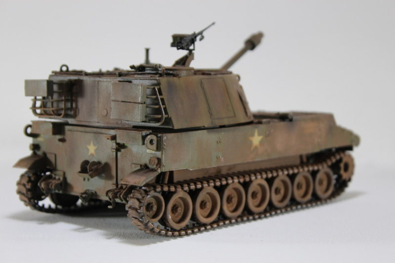 The Italeri 135th US Army M-108 105mm Howitzer