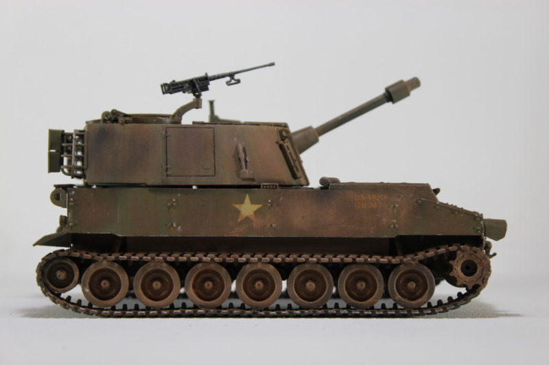 The Completed M109 Howitzer Model