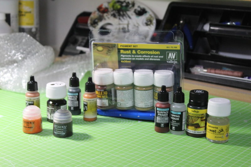 Some great new paints and weathering products