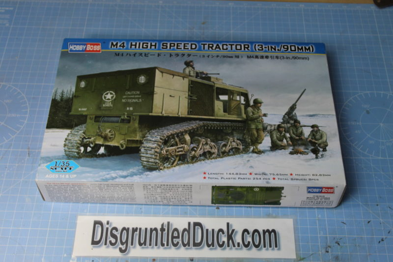 Hobby Boss M4 High Speed Tractor 1/35th Scale Model
