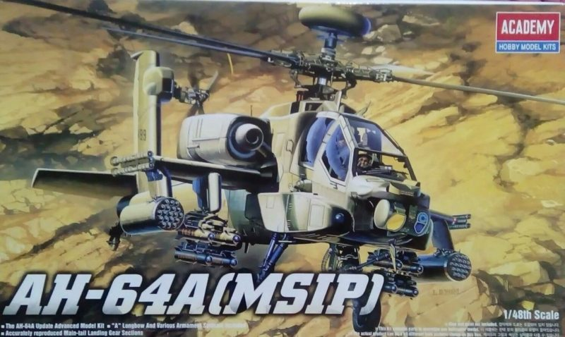 Academy Apache Scale Model