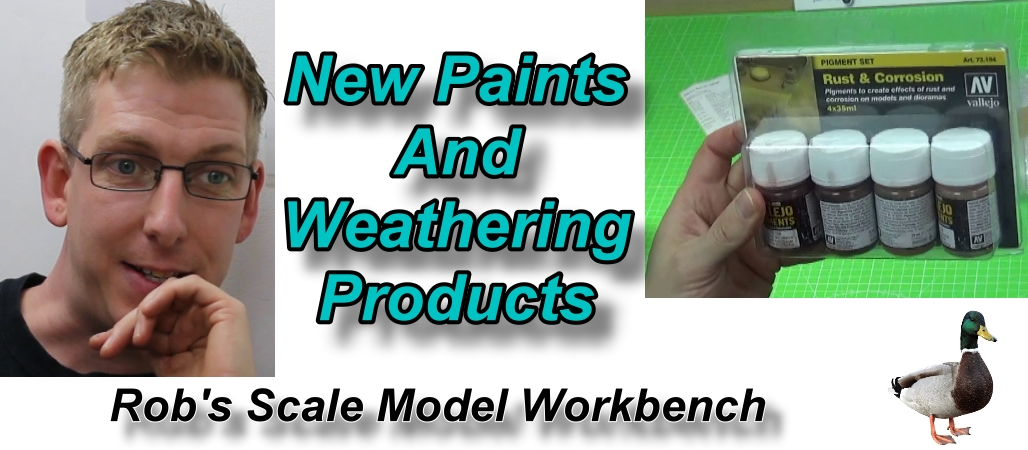 Rob's Scale Model Workbench S01E02 – Weathering Products
