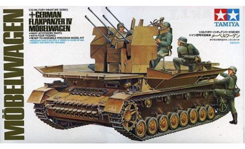 Tamiya 135th scale German Flakpanzer IV Mobelwagen