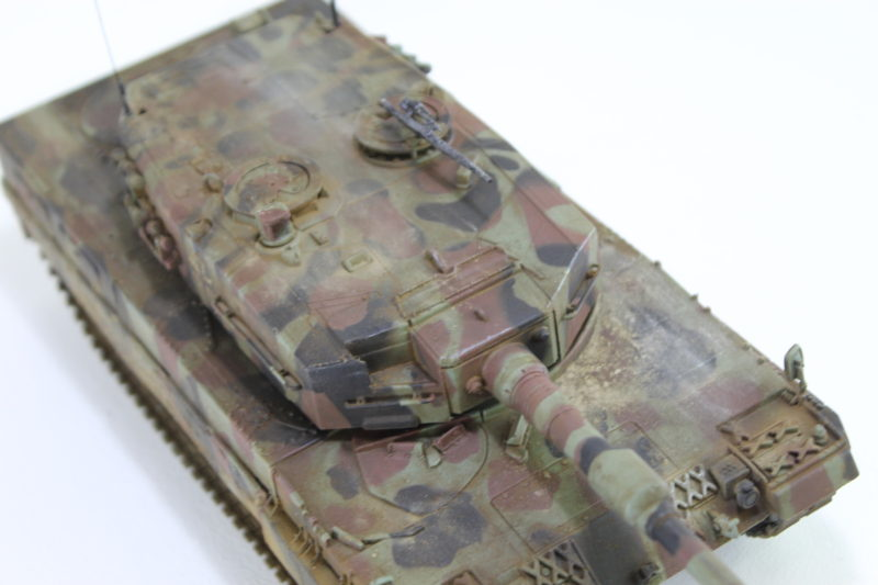 The Top Of The Leopard 2 Scale Model Tank