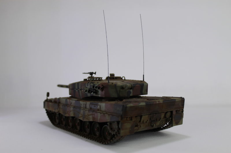 Completed Scale Model Leopard 2 Tank.